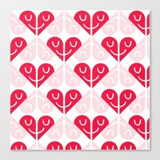 I love your smile Canvas Print