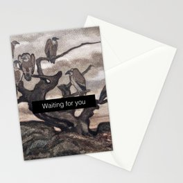 Waiting for you Stationery Cards