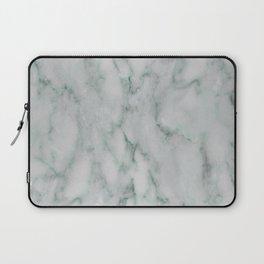 Ariana verde - smoky teal marble Laptop Sleeve