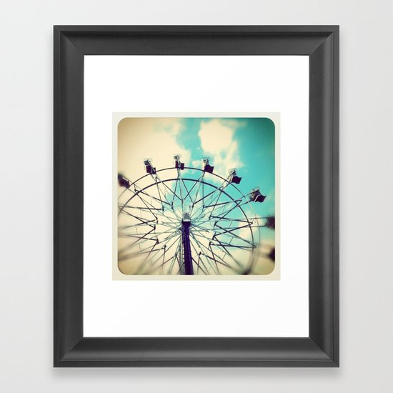 sweet summer days Framed Art Print
