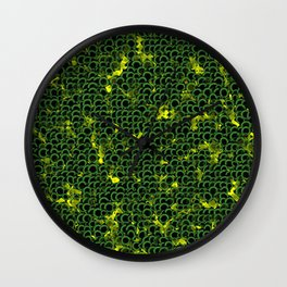 colla ring Wall Clock