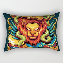 Harry Potter : Hogwarts Houses Rectangular Pillow