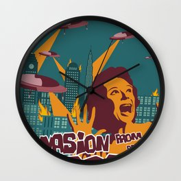 Invasion Wall Clock