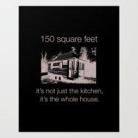 Tiny House Conference Art Print