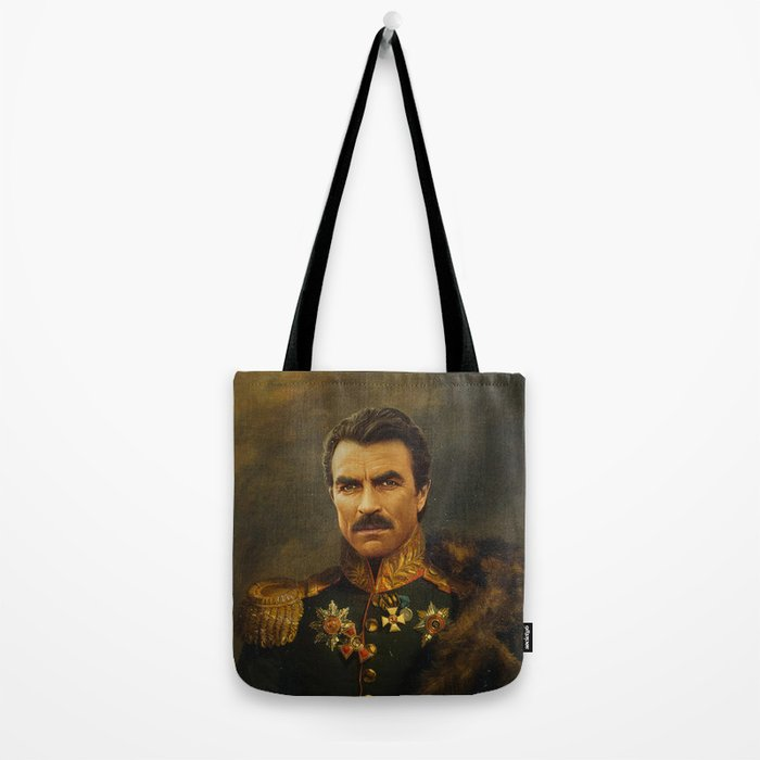 Tom Selleck - replaceface Tote Bag