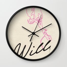 WILLSHAKESPEARE Wall Clock
