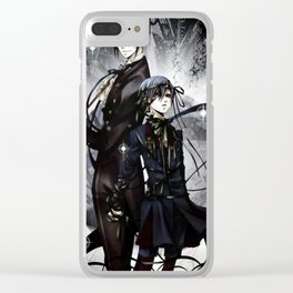 ciels keeper Clear iPhone Case