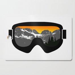 Sunset Goggles 2 | Goggle Designs | DopeyArt Cutting Board