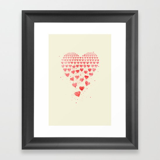 I Fall to Pieces... Framed Art Print