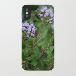September Wildflowers iPhone Case