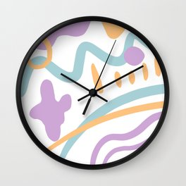 Path to Puddy Wall Clock