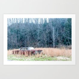 Left to Rust Art Print