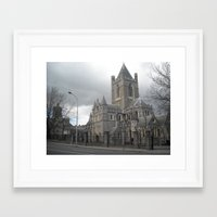 dublin Framed Art Prints featuring Dublin by Ganeswar Sahoo