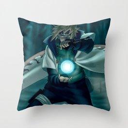 MINATO Throw Pillow