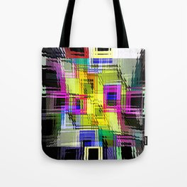 Cubism interdimensional. Tote Bag