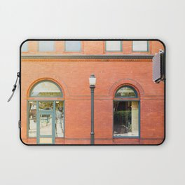 Street photography brick building afternoon I Laptop Sleeve