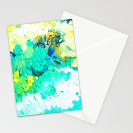 Turquoise Clouds Stationery Cards
