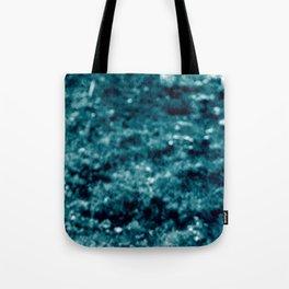 landscape blue Tote Bag