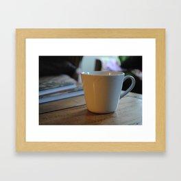Morning Joe Framed Art Print