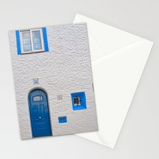 Blue door in Sitges Stationery Cards