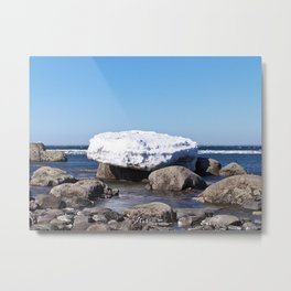 Perched on the Boulders Metal Print