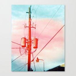Power Lines Canvas Print