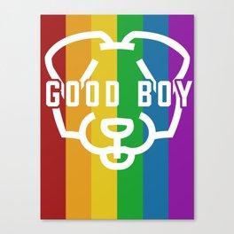 Good Boy - Pride Canvas Print