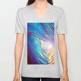 abstract design illustration graphic Unisex V-Neck