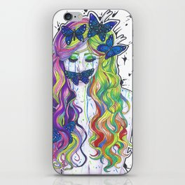 Crying Color iPhone Skin