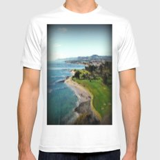 Fossil Bluff - Tasmania - Australia Mens Fitted Tee MEDIUM White