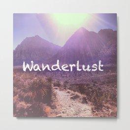 Wanderlust Metal Print