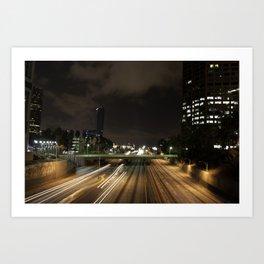 01 - DownTown_LA Art Print