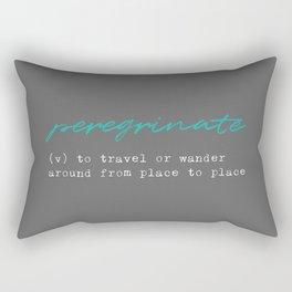 Peregrinate Rectangular Pillow