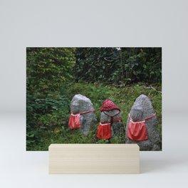 Three Tiny Guardians Mini Art Print