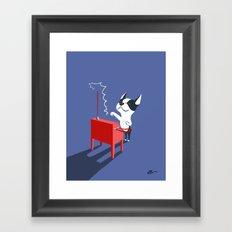 Boogie on Theremin Framed Art Print