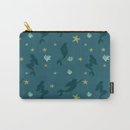 Beautiful Mermaids Pattern Carry-All Pouch
