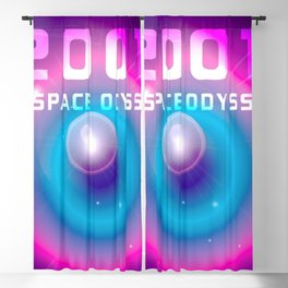 2001 a Space Odyssey Blackout Curtain