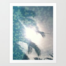 Reflections In The Pool Art Print