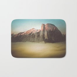 Half Dome Yosemite California Bath Mat
