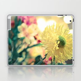 Flowery light Laptop & iPad Skin