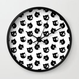 Shapely Piggies Wall Clock