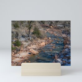 Virgin_River 4784 - Canyon_Junction, Zion_National_Park Mini Art Print