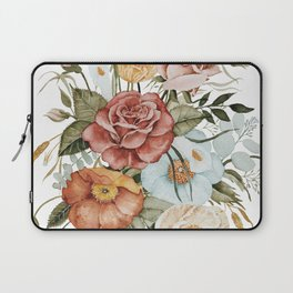 Roses and Poppies Laptop Sleeve