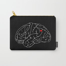 Head and Heart Carry-All Pouch