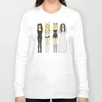 mean girls Long Sleeve T-shirts featuring Mean Girls Halloween by CozyReverie