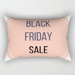Black friday sale : Original stylish icon in Pink Eco Rectangular Pillow