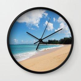 Tunnels beach Wall Clock