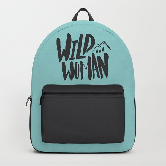 Wild Woman x Blue Backpack
