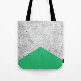 Concrete Arrow Green #175 Tote Bag
