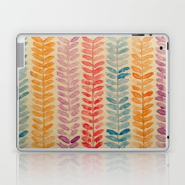 watercolor knit pattern Laptop & iPad Skin